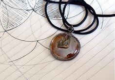 MEDOVE SKLO Washer Necklace, My Arts, Bronze, Shop, Jewelry, Jewlery, Jewerly, Schmuck, Jewels