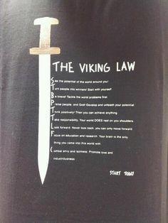 "There is NO ""viking law"". ""Viking"" is what some Nordic people did, not who they… Viking Life, Viking Art, Viking Woman, Viking House, Viking Ship, Spartan Warrior, Viking Warrior, Norse Pagan, Norse Mythology"