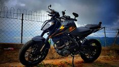 Modified new KTM Duke 390