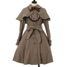 Victorian Maiden Pintuck Noble Coat Dress (used, no remarkable defects), can buy direct from Japan. Victorian Style Clothing, Victorian Coat, Kpop Outfits, Trendy Outfits, Fashion Outfits, Rococo Fashion, Lolita Fashion, Japanese Fashion, European Fashion