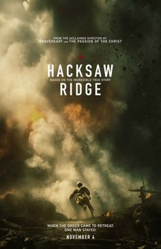 Hacksaw Ridge (2016) directed by: Mel Gibson starring: Andrew Garfield, Vince Vaughn, Teresa Palmer, Sam Worthington