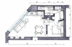 Una casa mini. Con curve e nicchie risolutive - Cose di Casa