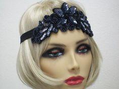 Bandeau de clapet Gatsby serre-tête bandeau par bloomsfromtheheart