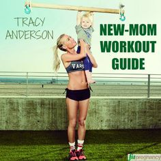 Feel stronger in a week with this new-mom workout from Tracy Anderson, fitness guru to Gwyneth Paltrow. #fitspo #pregnancy