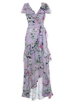 Dress Outfits, Casual Dresses, Fashion Dresses, Dress Up, Summer Dresses, Pretty Dresses, Beautiful Dresses, Floral Chiffon Maxi Dress, Mode Hippie