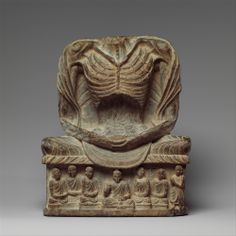 """ancientpeoples: """" Fasting Buddha Shakyamuni Pakistan (ancient region of Gandhara), century (Kushan period); high """"After reaching enlightenment at Bodhgaya, Shakyamuni meditated and fasted for forty-nine days. Thus, showing him as. Buddha India, Pakistan, Alexandre Le Grand, Indus Valley Civilization, Buddhist Art, Religious Art, Ancient Art, Indian Art, Metropolitan Museum"""