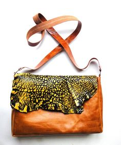 Leather bag handmade by Klerovski Bags