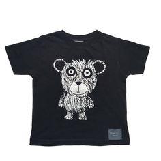Bella Simone bear only - black. Bear T Shirt, Anti Bullying, Black Bear, Little Girls, T Shirts For Women, Boys, Mens Tops, Cotton, Range