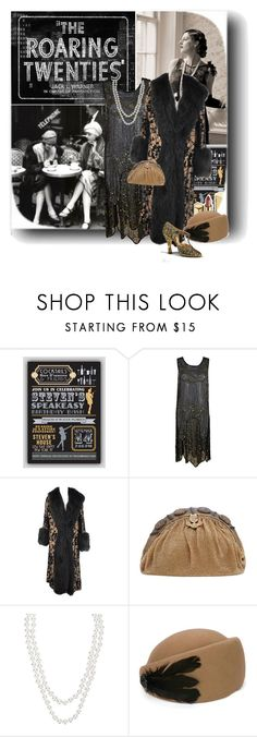 """The Roaring Twenties"" by junglover ❤ liked on Polyvore featuring Dolce&Gabbana, Henri Bendel, vintage and polyvoreditorial"