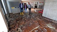 Schlimmste Befürchtungen übertroffen: Hochwasser richtet an Uni Hildesheim Millionenschaden an