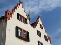 """""""Twin Gables"""", Oppenheim, Germany"""