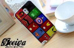 Superheroes Logo Costume Phone Case For iPhone Samsung iPod Sony – Feeiva