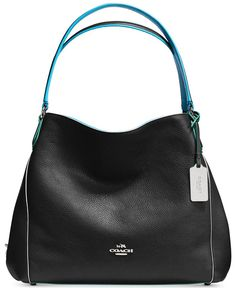 coach pocketbooks outlet fu4w  COACH Edie Shoulder Bag 31 in Edgestain Leather