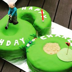 Dads 60th cake! #golf