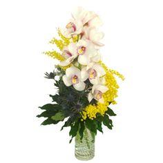 composizioni con orchidee e bacche rosse - Cerca con Google