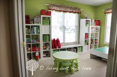 living out His love: Our Homeschool Room!