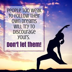 Focus on reaching your dreams and block out anyone who tries to bump you off the track.  #Exportersindia #Quotes