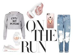 """Cute but Psycho"" by maida-jahic-1 ❤ liked on Polyvore featuring Topshop, NIKE, Beats by Dr. Dre, Casetify and adidas"