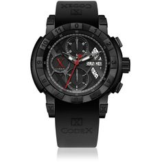 CODEX IDENTITY Chrono Day Date Automatic Black Dial Men's Watch #4401.42.0101.R01 : Codex
