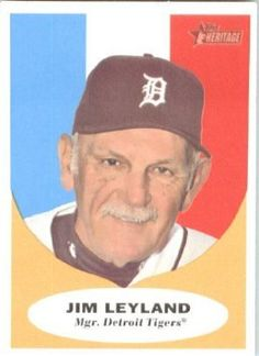 Jim Leyland baseball cards - Google Search wanting to make a board of my favorite (or at least All-time great) Tigers