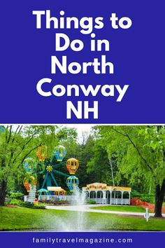 North Conway, New Hampshire is one of the best summer vacation destinations in the Northeast. Read about what to do in North Conway NH including where to stay, what to do, and restaurants. Best Summer Vacations, Best Vacation Spots, Vacation Destinations, North Conway New Hampshire, North Conway Nh, Stuff To Do, Things To Do, New England Travel, Restaurants