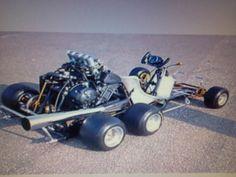 Wild gsxr powered go kart