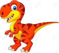 Cartoon tyrannosaurus isolated on white background vector image on VectorStock Dinosaur Images, Dinosaur Pictures, Cartoon Dinosaur, Cute Dinosaur, Dinosaur Party, Dinosaur Birthday, Cartoon Kids, Inkscape Tutorials, Dinosaur Illustration