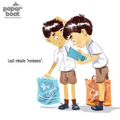 These beautiful illustrations by Paper Boat describe school memories in a beautiful way, and it will definitely make you miss your school.