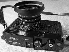 All black al la carte Leica MP w/ 35/2 Summicron