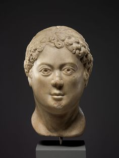 Head of a Woman 5th century Byzantine St James The Greater, Constantine The Great, Ottoman Turks, Byzantine Art, Metropolitan Museum, Early Christian, North Africa, Bronze Sculpture, Roman Empire