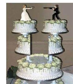 Image detail for -Redneck Wedding Cake #2