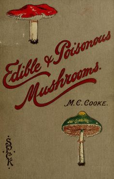 Edible and poisonous mushrooms: what to eat and what to avoid. 1894.