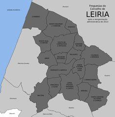 Freguesias do concelho de Leiria
