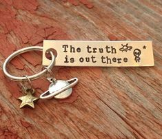 X Files inspired The truth is out there by craftylikeamonkey
