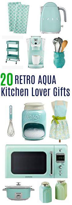 home decor items 20 retro aqua kitchen - Kitchen Decor Items, Retro Kitchen Decor, Retro Home Decor, Unique Home Decor, Home Decor Items, Vintage Kitchen, Kitchen Ideas, Retro Vintage, Kitchen Inspiration