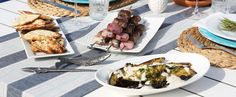 A Mediterranean Cookout That Will Make You Want to Cry Happy Food Tears