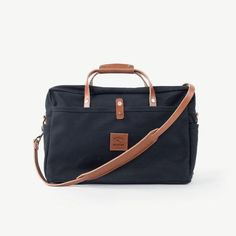 eb6d03253c9b Courier Briefcase - Black. We really wanted a bag that could ...