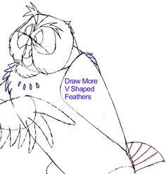 How to Draw Owl from Winnie The Pooh with Easy Step by Step Drawing Tutorial