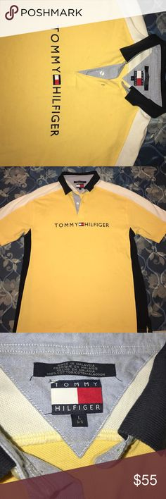 Tommy Hilfiger shirt Tommy Hilfiger vintage shirt. I LOVE this shirt but I have too much tommy. Size Large Tommy Hilfiger Shirts Casual Button Down Shirts