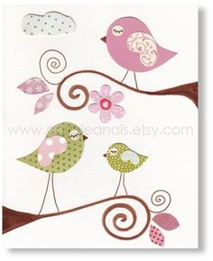 ThanksCute wall decor idea--instead of scrapbook paper and marker, use fabric & paint. awesome pin