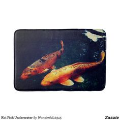 Koi Fish Underwater Bath Mat