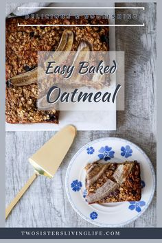 This is a delicious and easy to prepare recipe for nourishing baked oatmeal. Its made with healthy ingredients and its the ideal breakfast prep recipe for busy mornings. Breakfast Dishes, Breakfast Recipes, Oatmeal Squares, Ganache Cake, Lime Cake, Baked Oatmeal, Unique Recipes, Mornings, Dairy Free