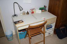 Drafting Desk, Corner Desk, Room, Furniture, Home Decor, Corner Table, Bedroom, Decoration Home, Room Decor
