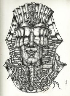 "Echa un vistazo a mi proyecto @Behance: ""The black pharaoh, avatar of nyarlathotep."" https://www.behance.net/gallery/60533705/The-black-pharaoh-avatar-of-nyarlathotep"