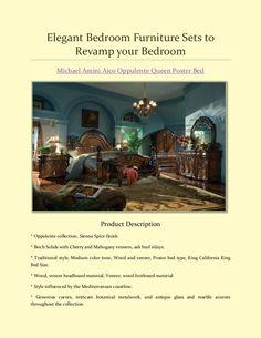 Elegant Bedroom Furniture Sets to Revamp your Bedroom.  #BedroomFurniture #BedroomFurnitureStore #LeonFurnitureStore