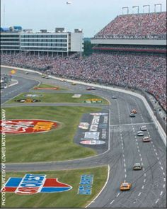 I would LOVE to start my engine at Charlotte Motor Speedway and catch a NASCAR Race!