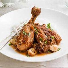 Garlicky Three-Cup Chicken