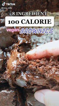 Healthy Sweets, Healthy Dessert Recipes, Vegan Recipes, Snack Recipes, Healthy Food, Vegan Baking, Healthy Baking, Fun Baking Recipes, Cooking Recipes