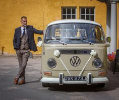 VW Deluxe Weddings, chauffeur driven VW microbes for wedding hire throughout the North East of England, Northumberland, Tyne and Wear, Durham.
