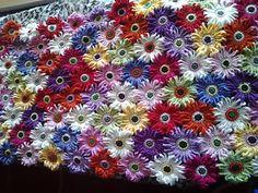 Gerbera Garden Blanket